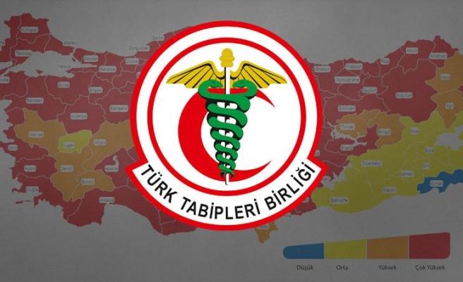TTB 'Kırmızı Harita'ya 10 Maddelik Açıklamayla Tepki Gösterdi: 'Yönetemiyorsunuz'