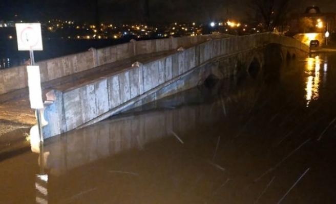 Tunca Nehri taştı, Meriç Nehri için alarm verildi