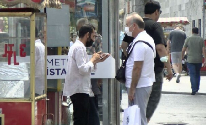 Turistlere kendi HES kodunu satarken yakalandı