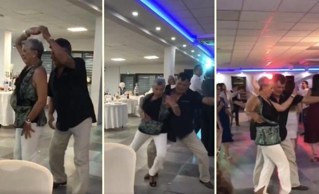 Türk ile Evlenen Fransız Kadının Ailesi, 'Ankara'nın Bağları' Şarkısında Muhteşem Dans Gösterisi Yaptı