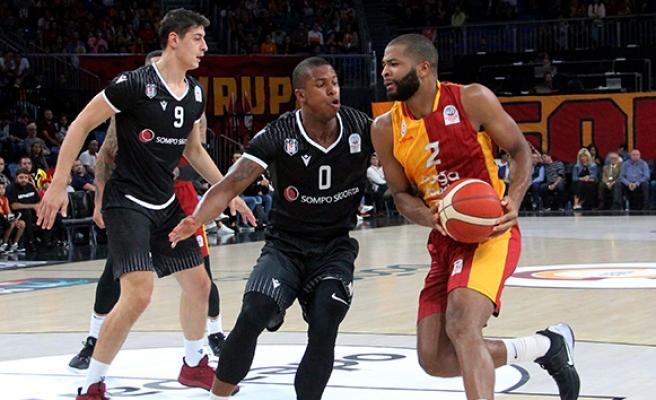 Türkiye Basketbol Süper Ligi: Galatasaray: 74 - Beşiktaş: 65
