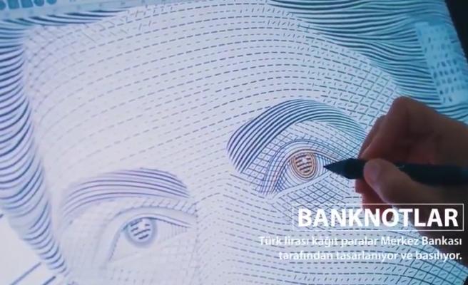 Türkiye Cumhuriyet Merkez Bankası'nın Ankara Matbaası Her Gün 6 Milyon Banknot Basılıyor