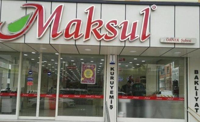 Türkiye'de 200'e yakın şubesi olan kuruyemiş devi Maksul Gıda konkordato istedi