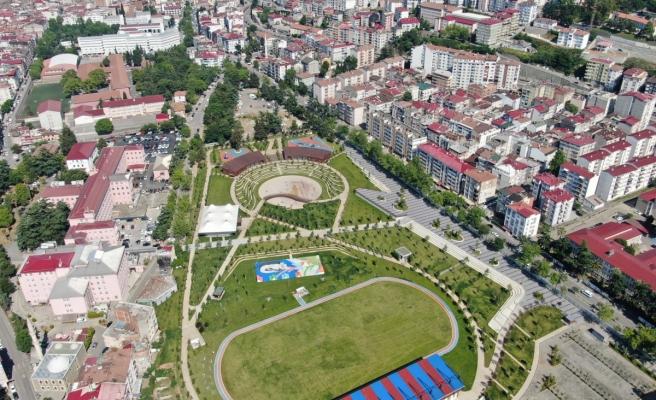 Türkiye'nin ilk spor temalı millet bahçesi açılıyor
