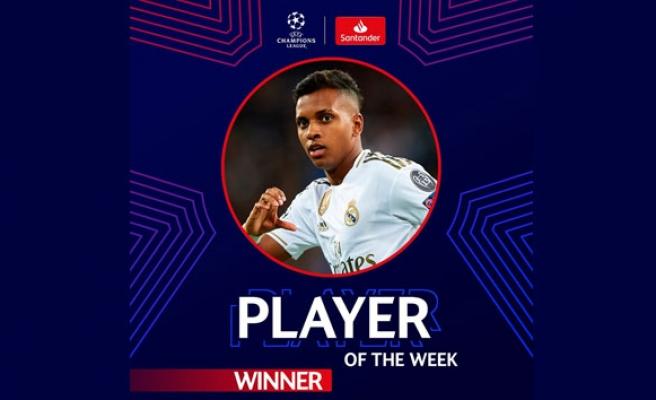 UEFA Şampiyonlar Ligi'nde haftanın futbolcusu: Rodrygo