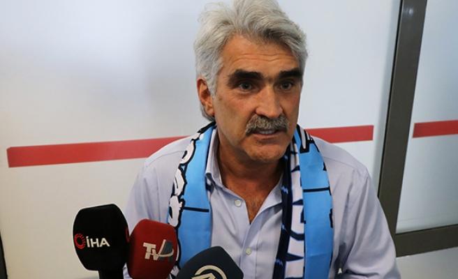 Uğur Tütüneker: 'Hedefimiz Süper Lig'