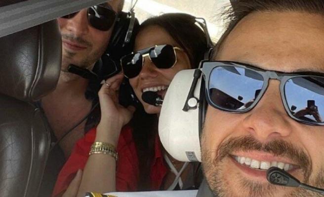 Ümit Erdim pilot oldu: İlk yolcularım çok havalıydı
