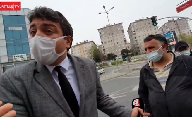 Üsküdar'da Kaldırılmak İstenen Halk Ekmek Büfesi Olayları: A Haber Muhabiri 'Erdoğan'a Yandaşız' Dedi