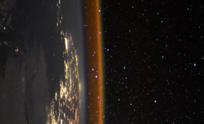 Uzaydan gelen nefes kesen fotoğraf!