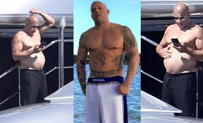 Vin Diesel son görüntüsüyle herkesi şaşırttı