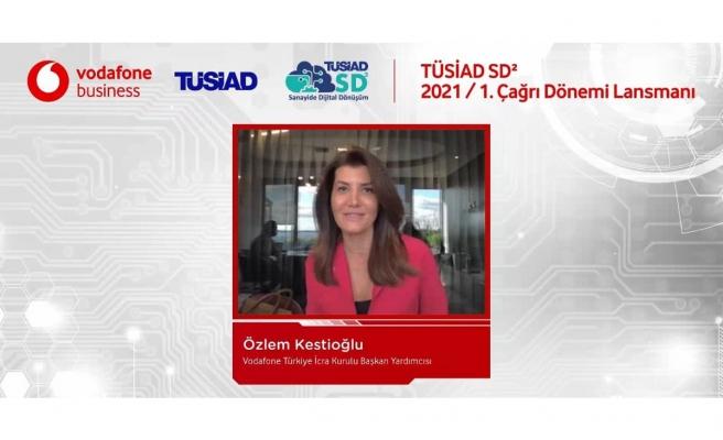 Vodafone'dan Türk sanayisinin dijitalleşmesine destek