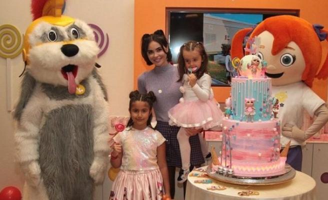 Volkan & Zeynep Demirel'in kızı Yade 6.yaşını kutladı