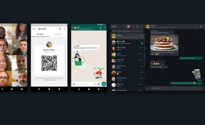 WhatsApp'tan yeni QR işlevi