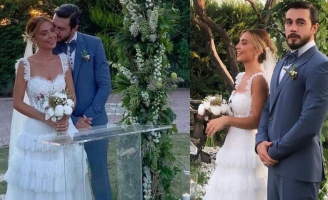 Yakışıklı oyuncu İsmail Ege Şaşmaz memleketinde evlendi