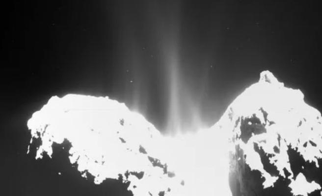 Yanan Kuyrukluyıldızın 'Bebek Pudrasıyla' Kaplandığı Keşfedildi