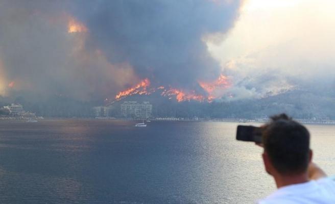 Yangın Felaketi Dünya Basınında Geniş Yer Buldu;