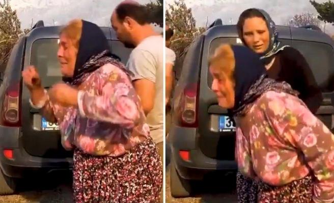 Yangında Evini Kaybeden Kadın Gözyaşlarına Boğuldu: 'Yemedim Buzdolabı Aldım, Yemedim Çamaşır Makinesi Aldım'