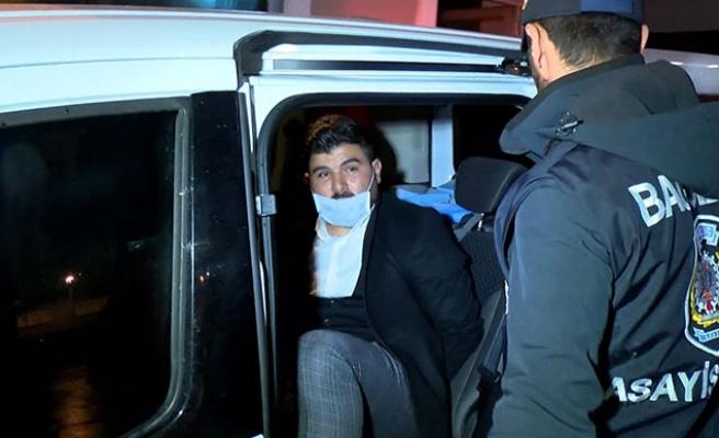 Yaşlı Adama Zorla Maske Takıp Kafasına Kolonya Döken Şahıs Gözaltına Alındı