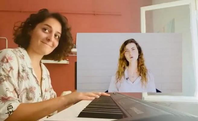 YouTuber Büşra Elsall'ın 'HelpTurkey' Diyenlere 'Ciğeri Beş Para Etmez' Dediği Videoya Piyano Editi