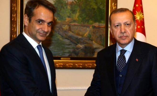 Yunanistan Başbakanı Miçotakis: Gerginlik giderilirse Erdoğan ile görüşmeye hazırım