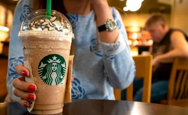 Zarar açıklayan Starbucks'ın cirosu yüzde 38,1 azaldı