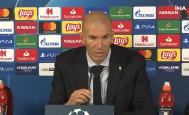"""Zidane: """"Courtois bizi yenilgiden kurtardı"""""""