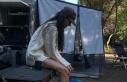 Yasemin Özilhan, karavan tatilinde