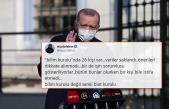 Erdoğan'ın 'Birinci Derecede Sorumlu Bilim Kurulu'dur' Sözleri İçin Ne Dediler?