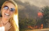 Manavgat'taki yangında çiftliği yanan Tuğba...