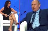 Putin'ın yanıtı sonrası ABD'li gazeteci buz kesti: Önümde ne dediğimi duymamış gibi soruyu tekrarlayan güzel bir kadın var