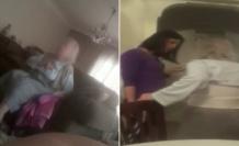 Yaşlı Kadına Bakıcı Şiddeti İddiası: 'Burada Beni Dövüyorlar'