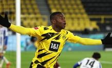 Youssoufa Moukoko sezonu kapattı