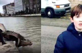 11 Yaşındaki Çocuğun Paris'in Ortasındaki Nehirden...