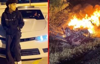 19 yaşındaki TikTok fenomeni, lüks aracıyla kaza...