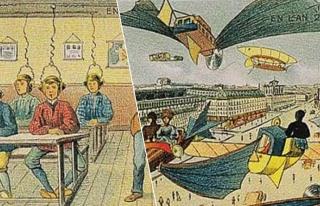 1910 Yılında Yapılan 16 Çizimle 2000'li Yılların...