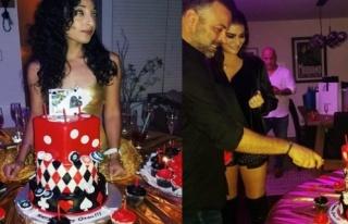 Süreyya Yalçın kocasının pastasına manken oturttu!