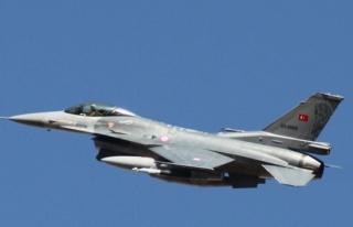 Kuzey Iraktaki hainlerin inlerine hava harekatı