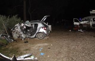 Muğlada feci kaza: 2 ölü, 2 yaralı