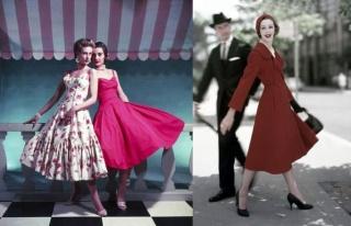 1950'li Yılların Moda Anlayışını Bizlere Aktaran...
