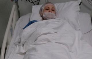 Kanserli eşini döverek hastanelik etti