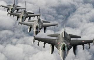 Kuzey Iraka hava harekatı: 4 terörist öldürüldü...