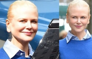 Nicole Kidman kulaklarıyla olay yarattı