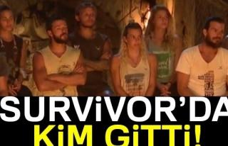 Survivor'da KİM GİTTİ, KİM ELENDİ?  Survivor'da...