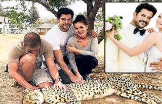 Fahriye Evcen - Burak Özçivit çifti safari yaptı