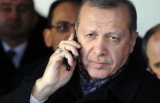 Cumhurbaşkanı Erdoğandan Tamimiye kutlama telefonu