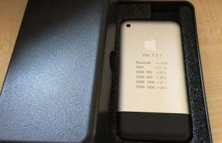 'iPhone 1' eBay'e düştü!