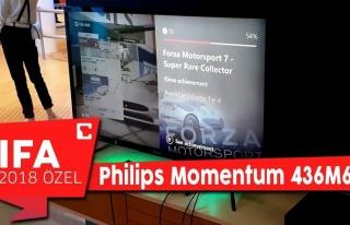 Philips Momentum 436M6 ilk bakış!