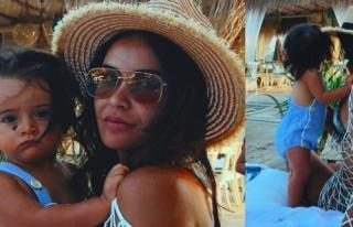 Zeynep Demirel'den 'tatile veda' pozları