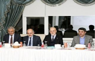 Başkan Çelikbilek 10 Ocak Gazeteciler Gününü...