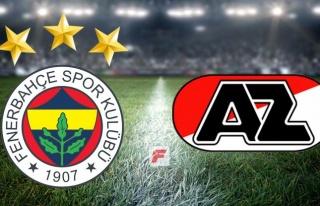 Fenerbahçe - AZ Alkmaar canlı izle